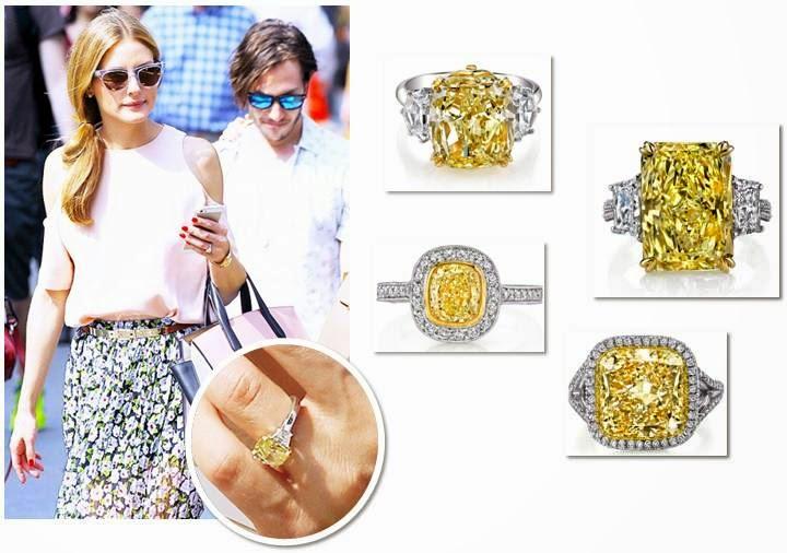Gentil Olivia Palermo Engagement Rings